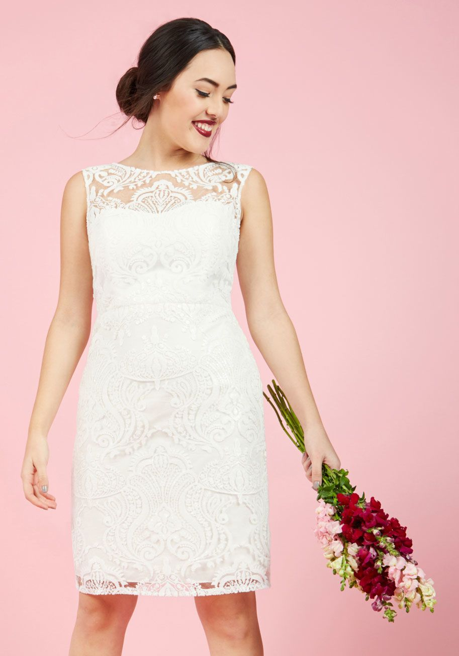 Jenny Yoo Every Vow and Again Lace Dress in White   Pinterest
