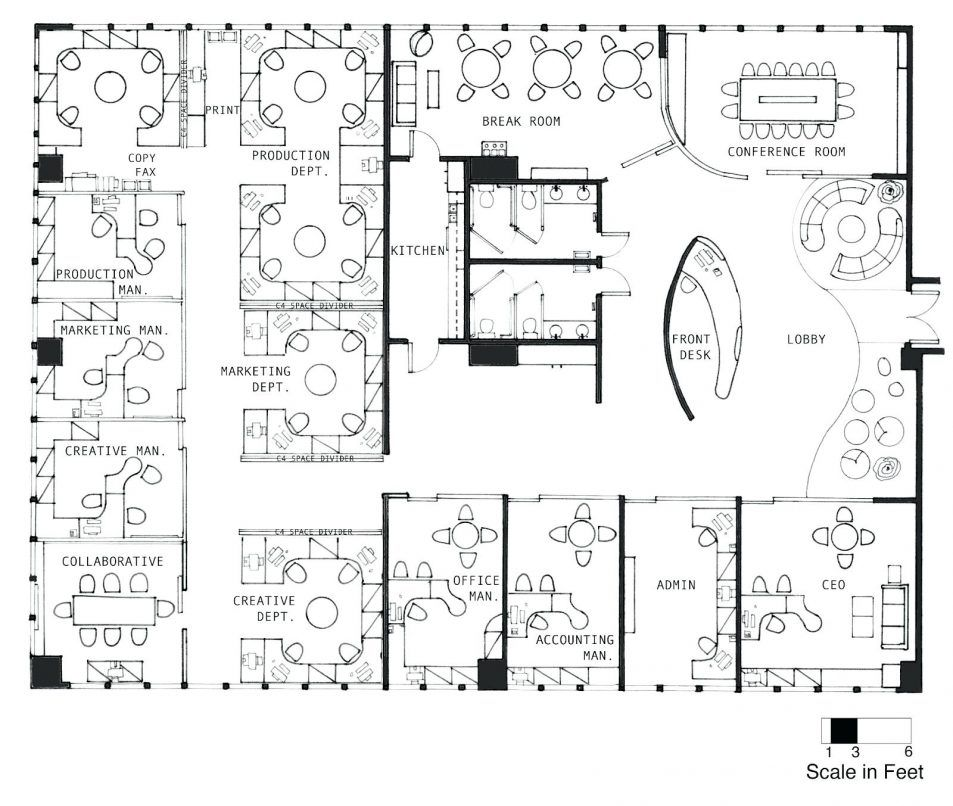 Office Design Office Interior Layout Plan Delectable Furniture Concept Of Office Interior Layout Pl Office Floor Plan Office Layout Plan Office Space Planning
