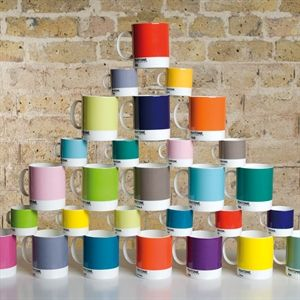 Pantone Mug More colours in the kitchen, home or office! The merry, new Pantone espresso cups are available in many different colours.