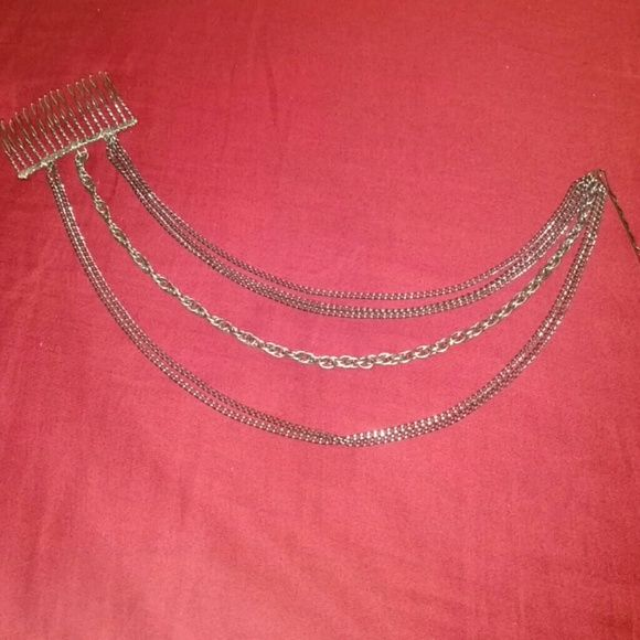 Hair chains One comb with bobby pin. Third picture not product just listed to show how products used. Accessories Hair Accessories