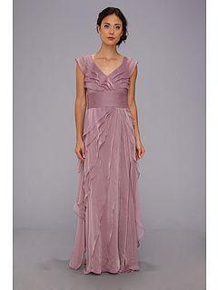 long petal dress Adrianna Papell