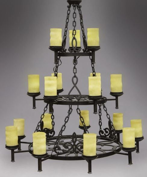 Frosted Gothics Twig Chandelier | 6 Light