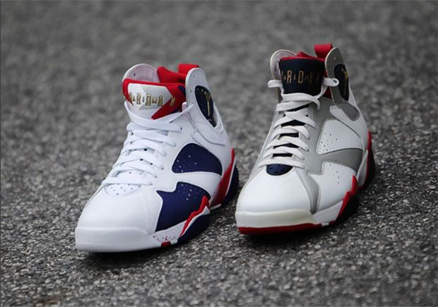"By now you're familiar with the new ""Olympic Alternate"" Air Jordan 7  releasing on August and of course you know the original version of the  Dream Team ..."