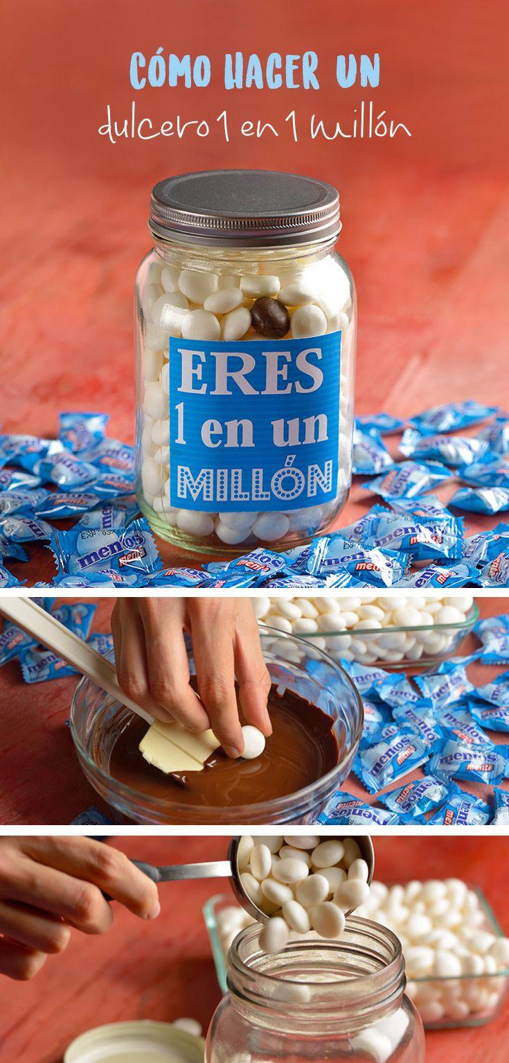 C mo hacer un dulcero 1 en 1 mill n d a del padre - Regalos originales para mi padre ...