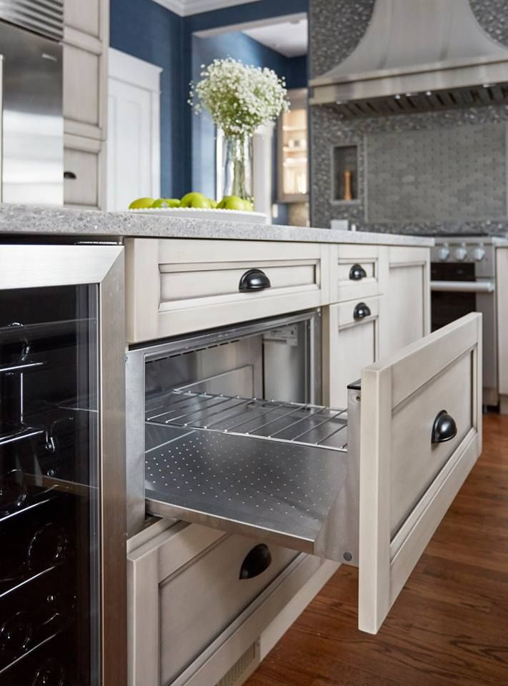 Best Hidden Warming Drawer In Island Very Cool And Pretty 400 x 300
