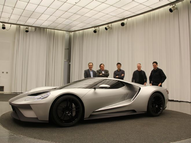 Interview With The Designers Behind The  Ford Gt