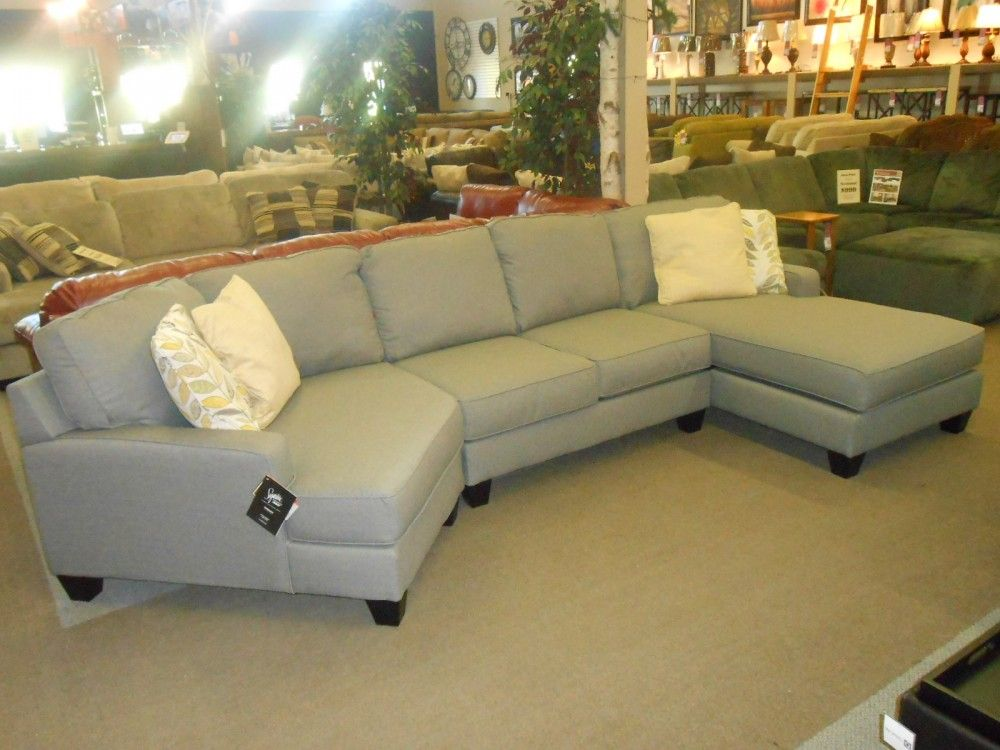 Buttercup Sectional with Chaise & Cuddler | 3 piece ...