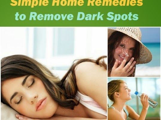 HEALTH PROJECT NOW: Best Home Remedies to Remove Dark Spots