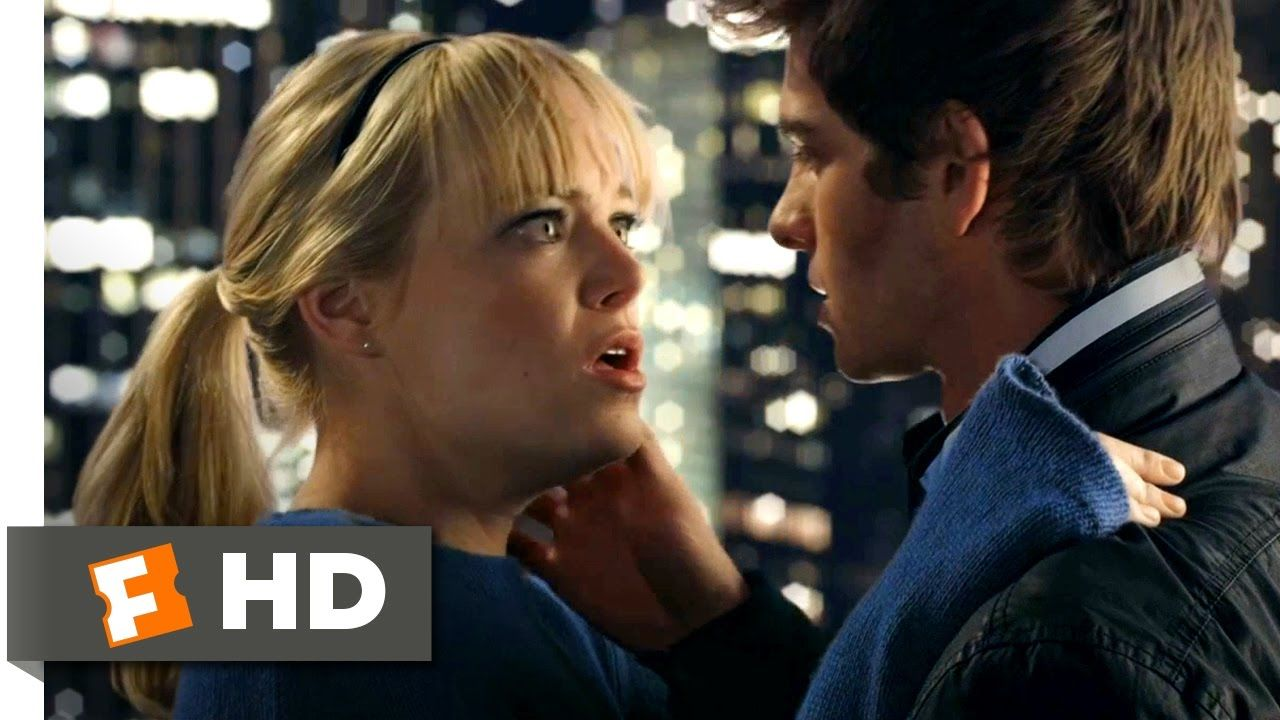The Amazing Spider Man Web Sling Kiss Scene 4 10 Movieclips