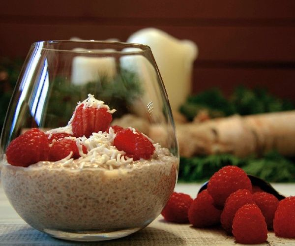 A spicy and comforting chia seed pudding for all times of the day!