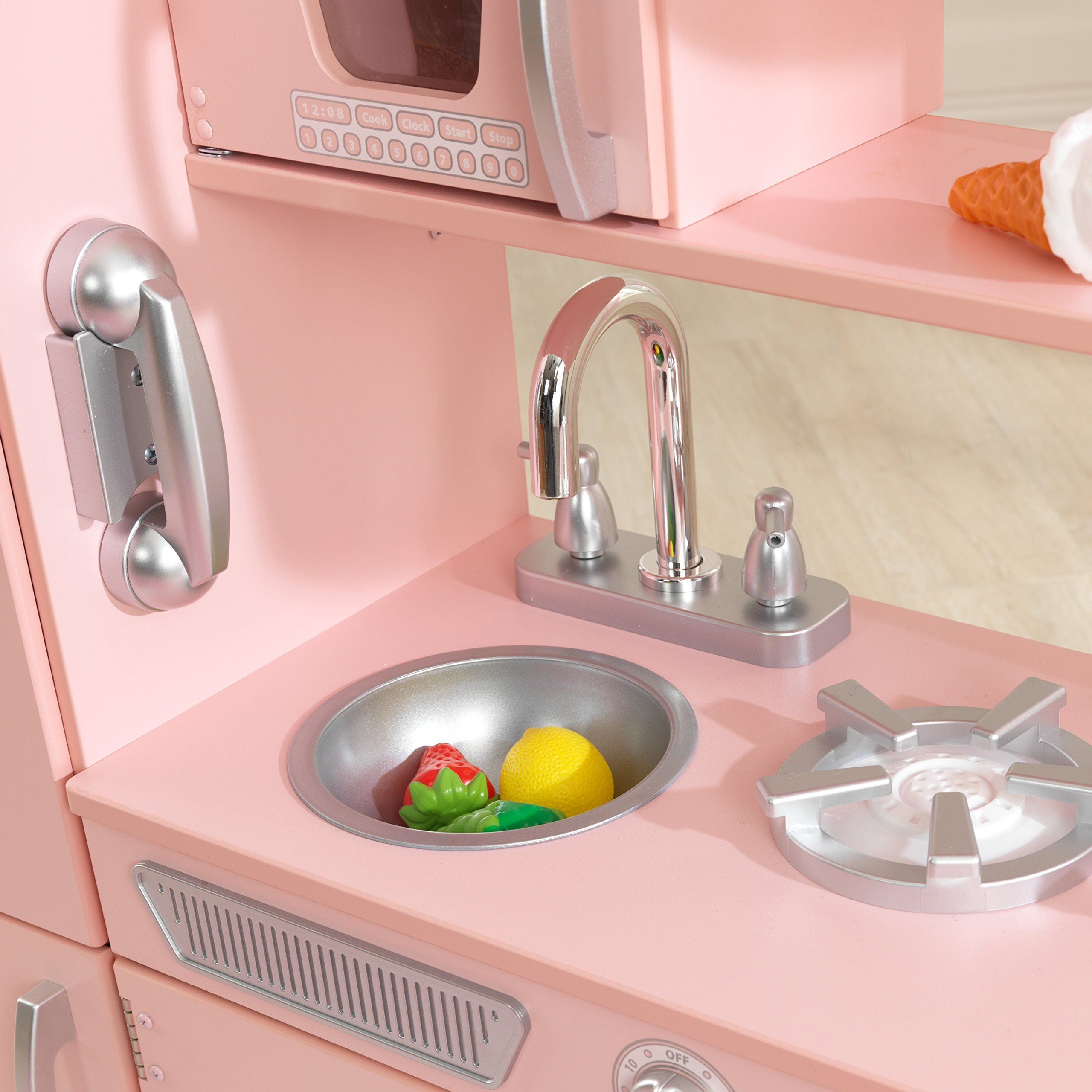 Kidkraft vintage kitchen in pink ueueue check this awesome product by