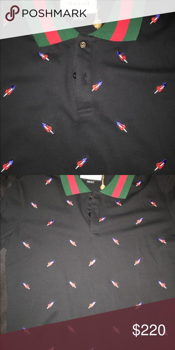 5ac51b77 Brand new Gucci men's polo shirt Hello. I'm selling a Brand New Black