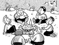 Campfire songs and stories