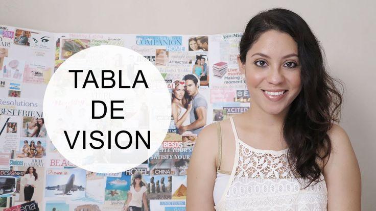 Cómo hacer un tablero de vision! (ideas + tips), esta idea te ayudará a lograr tus metas y objetivos