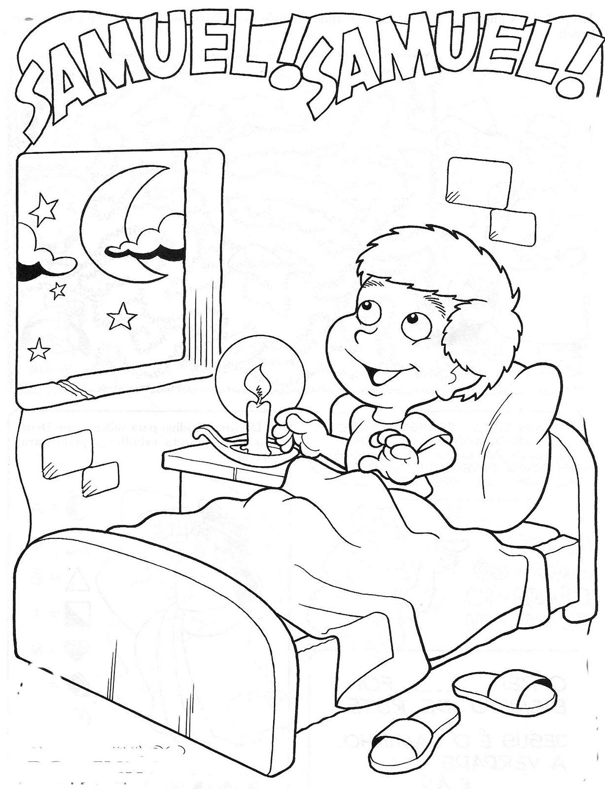 samuel coloring pages tyke town pinterest sunday