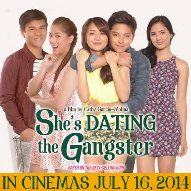 shes dating the gangster movie 2014 cast The casts of she's dating the gangster, one of the highly anticipated movie this 2014 has been revealed starting off with teen king daniel padilla and teen queen kathryn bernardo.