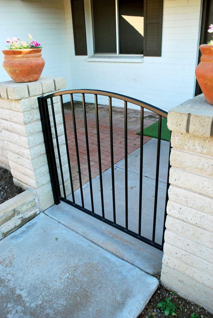 Pin by Melissa Collette on Gate Ideas | Iron garden gates ...