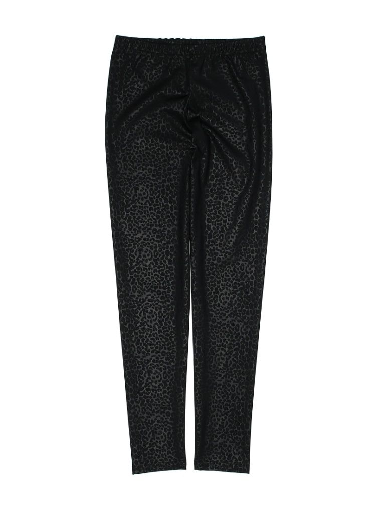 Dori Creations Leggings: Black Solid Bottoms - Size 12