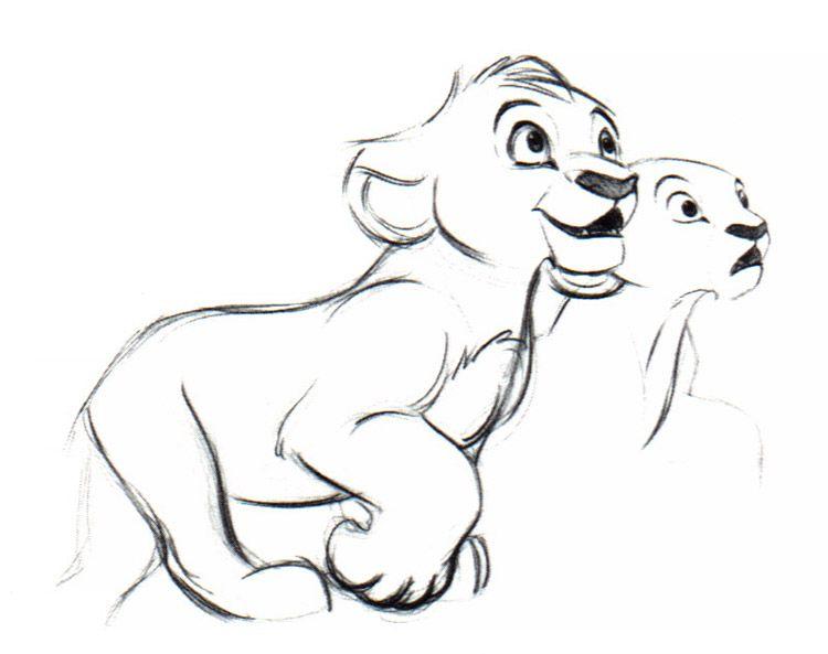 Simba & Nala: arte conceitual / \