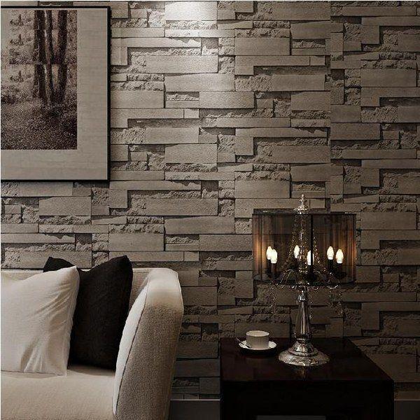 تركيب ورق جدران ثلاثي الابعاد بالرياض باقل الاسعار Stacked Stone Walls 3d Stone Wallpaper Brick Wallpaper Roll