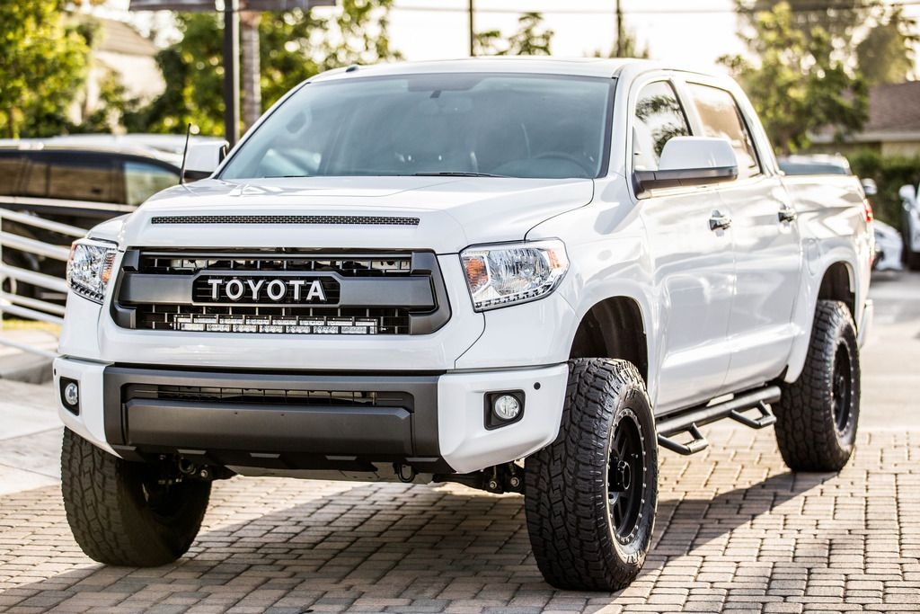 Swaggyveet S 2016 Tundra Crewmax Limited Super White Build Tundratalk Toyota Discussion Forum