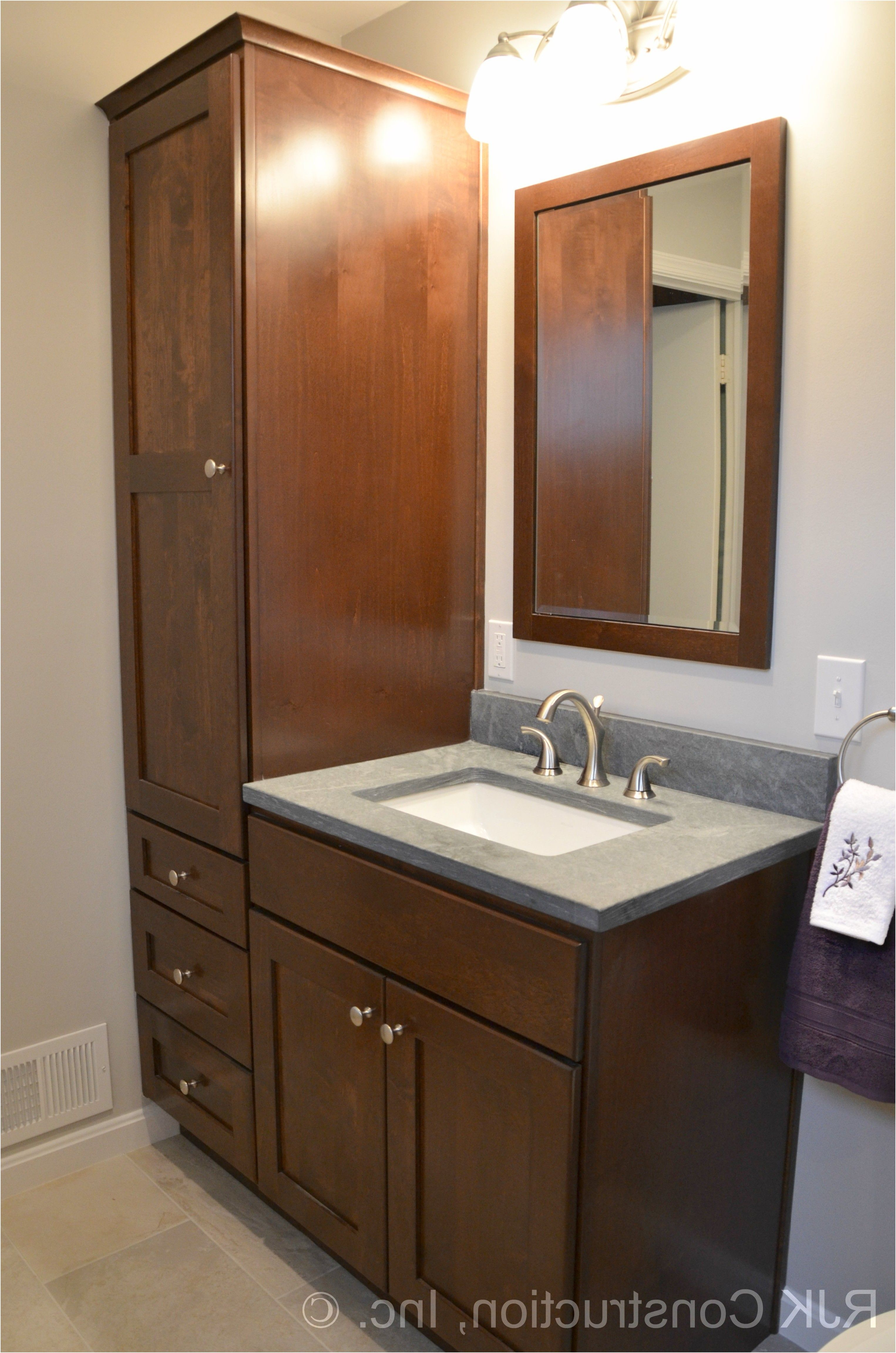Bathroom Vanity With Side Cabinet Bathroom Cabinets From Bathroom