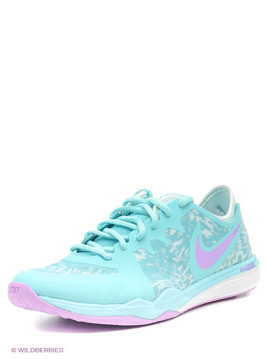 sports shoes 2386f f1092 Кроссовки W NIKE DUAL FUSION TR 3 PRINT Nike. Цвет серый.