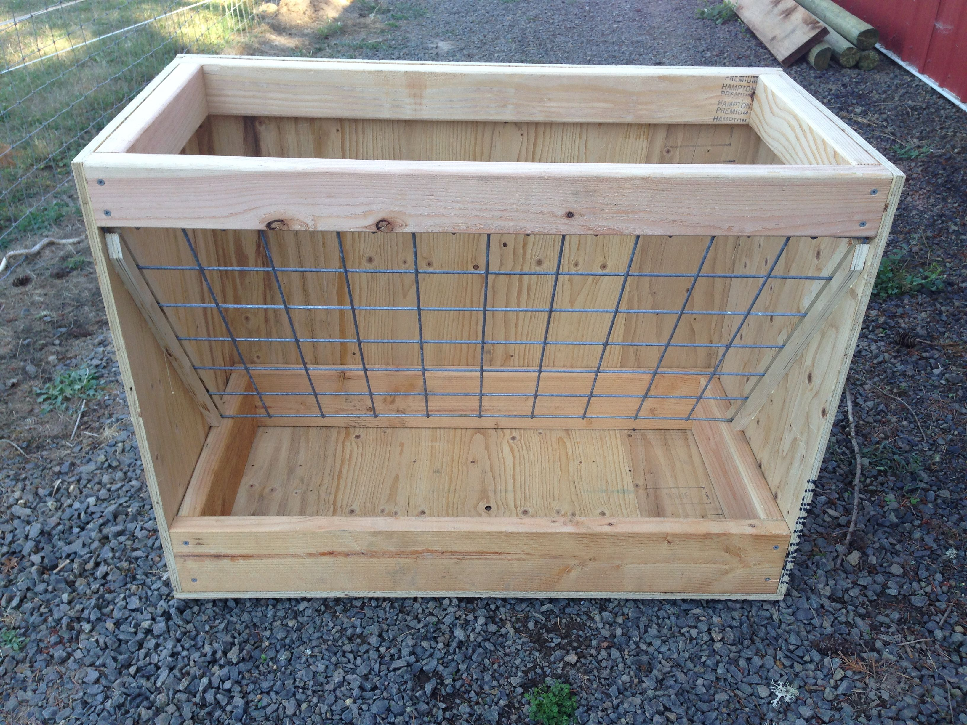 Homemade Goat Feeders For Sale | homestead | Goat feeder