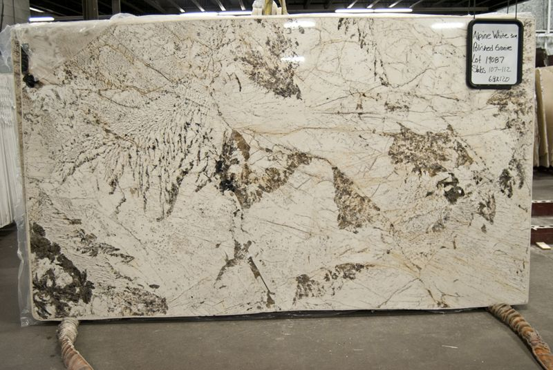 Alpine White Granite Slab Colors Granite Slab White Granite