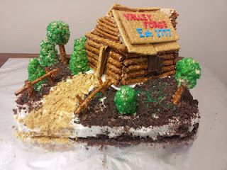 Cub Scout Cake Cake Walk Auction Idea Scouts Camping Cakes No