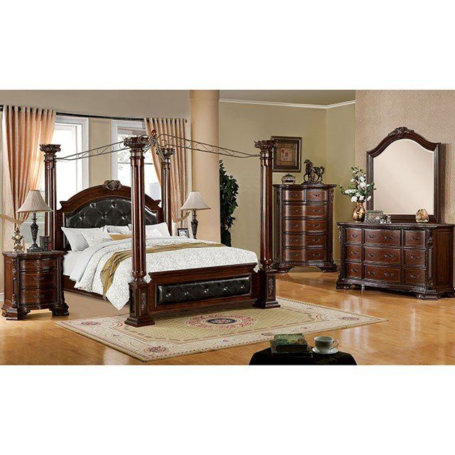 Furniture Of America Mandalay 4 Piece Bedroom Set Las Vegas
