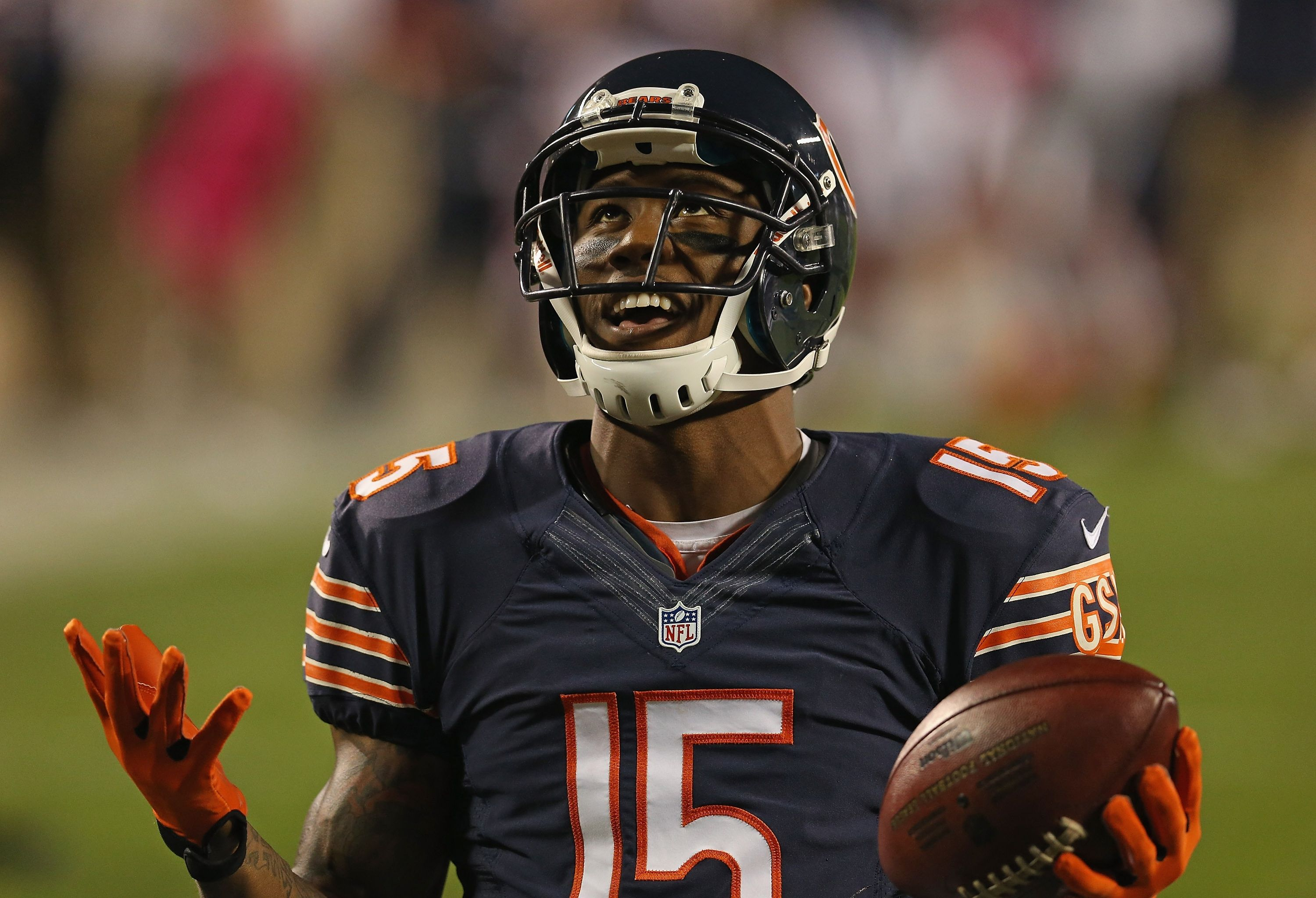 Pics For Chicago Bears Players Chicago Bears Football Helmets Players