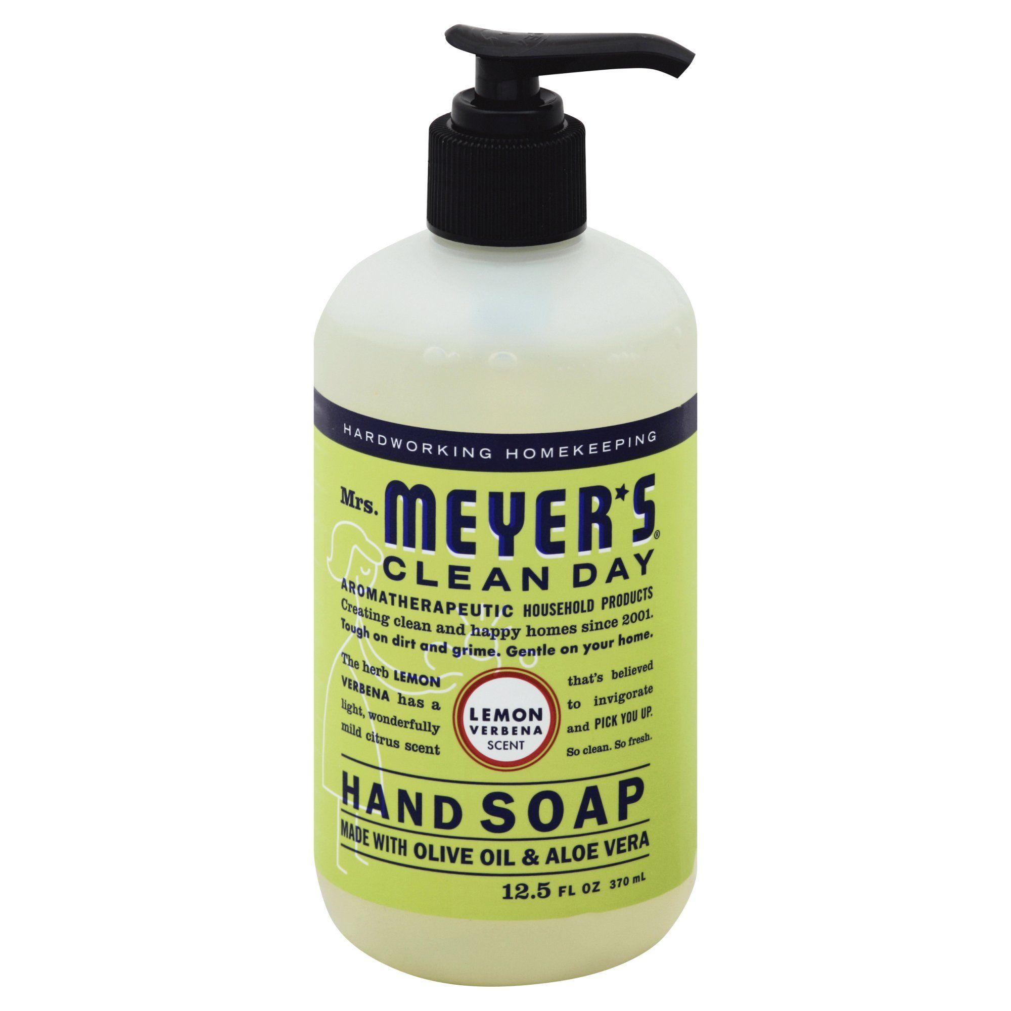 Mrs Meyer S Hand Soap Lemon 12 5 Oz Soap Sponsored Spon Oz Meyer Ad Lemon Hand Soap Liquid Hand Soap Paraben Free Products