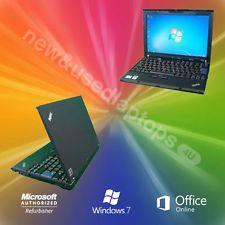 WINDOWS 7 IBM Lenovo X200 Laptop Core 2 Duo 4 8Ghz 2Gb Ram Warranty