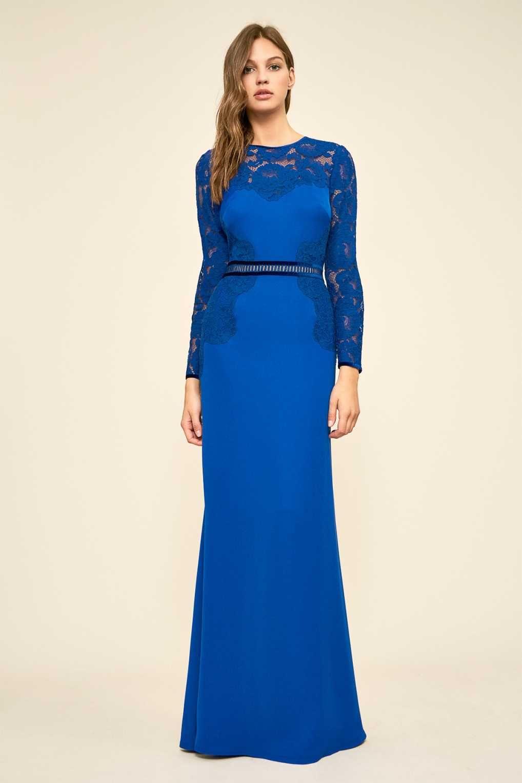 540c648a838 Tadashi Shoji AYV17801LXZ Насыщенно-Синее Вечернее Платье в 2019 г ...