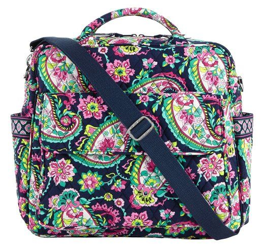 Vera Bradley Convertible Baby Bag Petal Paisley