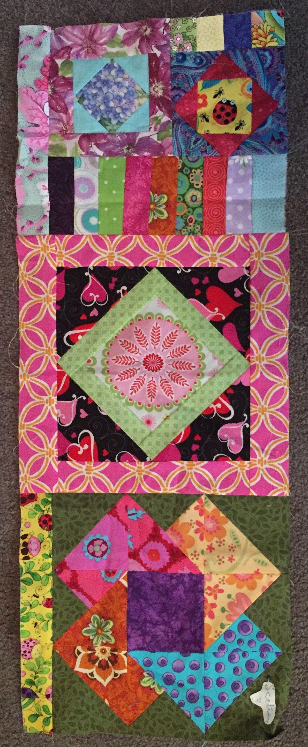 3 Fabric Quilt Patterns New Inspiration Design