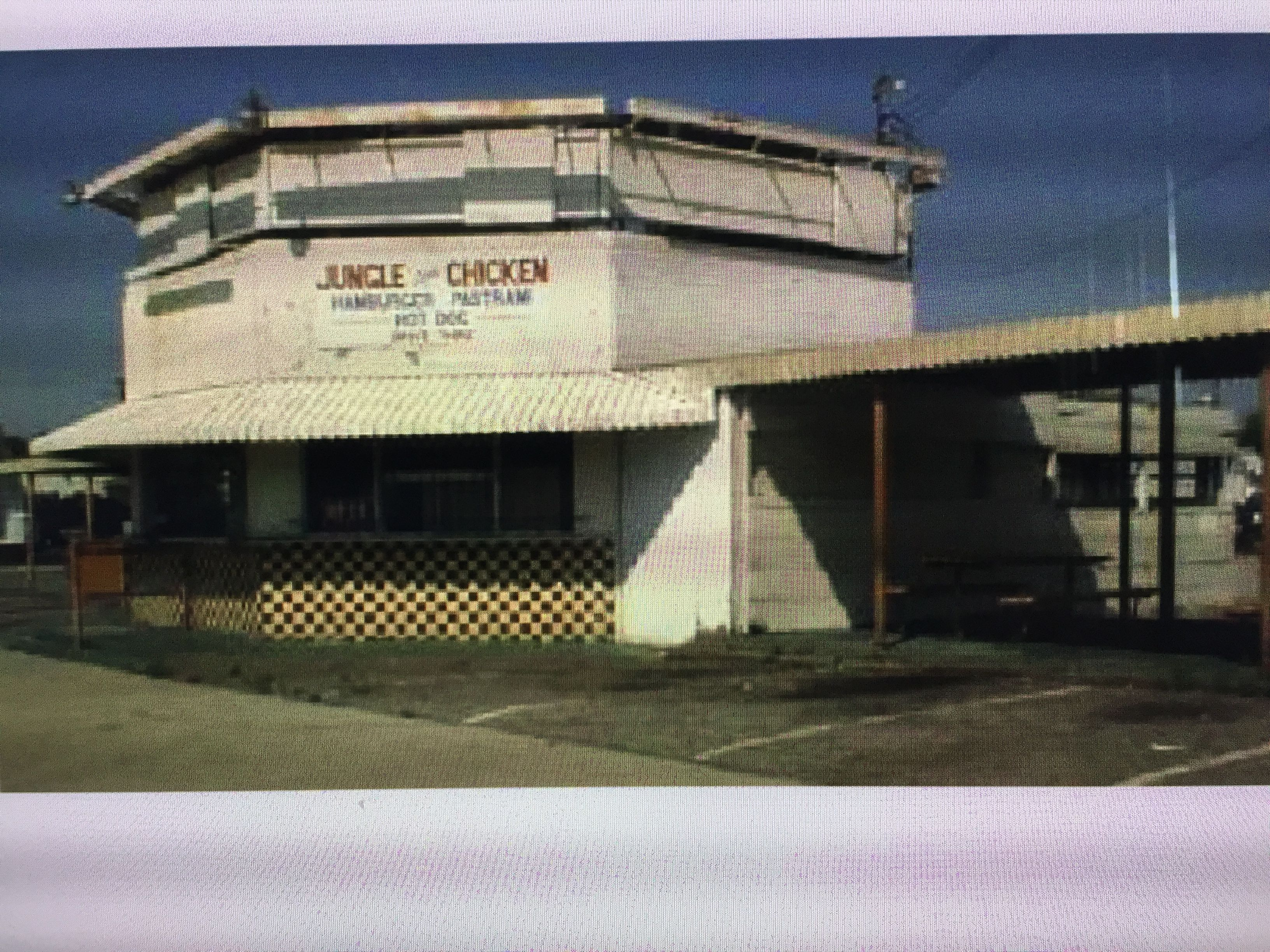 Jungle Style Chicken Fries In San Fernando Fifties Sixties San Fernando Valley Historical Place Los Angeles California