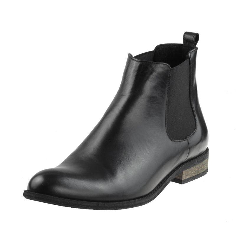 Botki Nessi 592 O Czarne 14 Buty Damskie Botki Ocieplane Chelsea Boots Shoes Boots