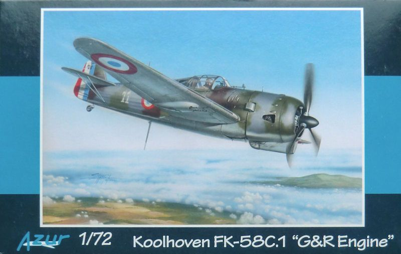 The Koolhoven F.K.58 was a single engine, interceptor-fighter aircraft designed by Koolhoven under contract by France. Intended for Armée de l'Air use, the F.K.58 saw limited service in the Battle of France.