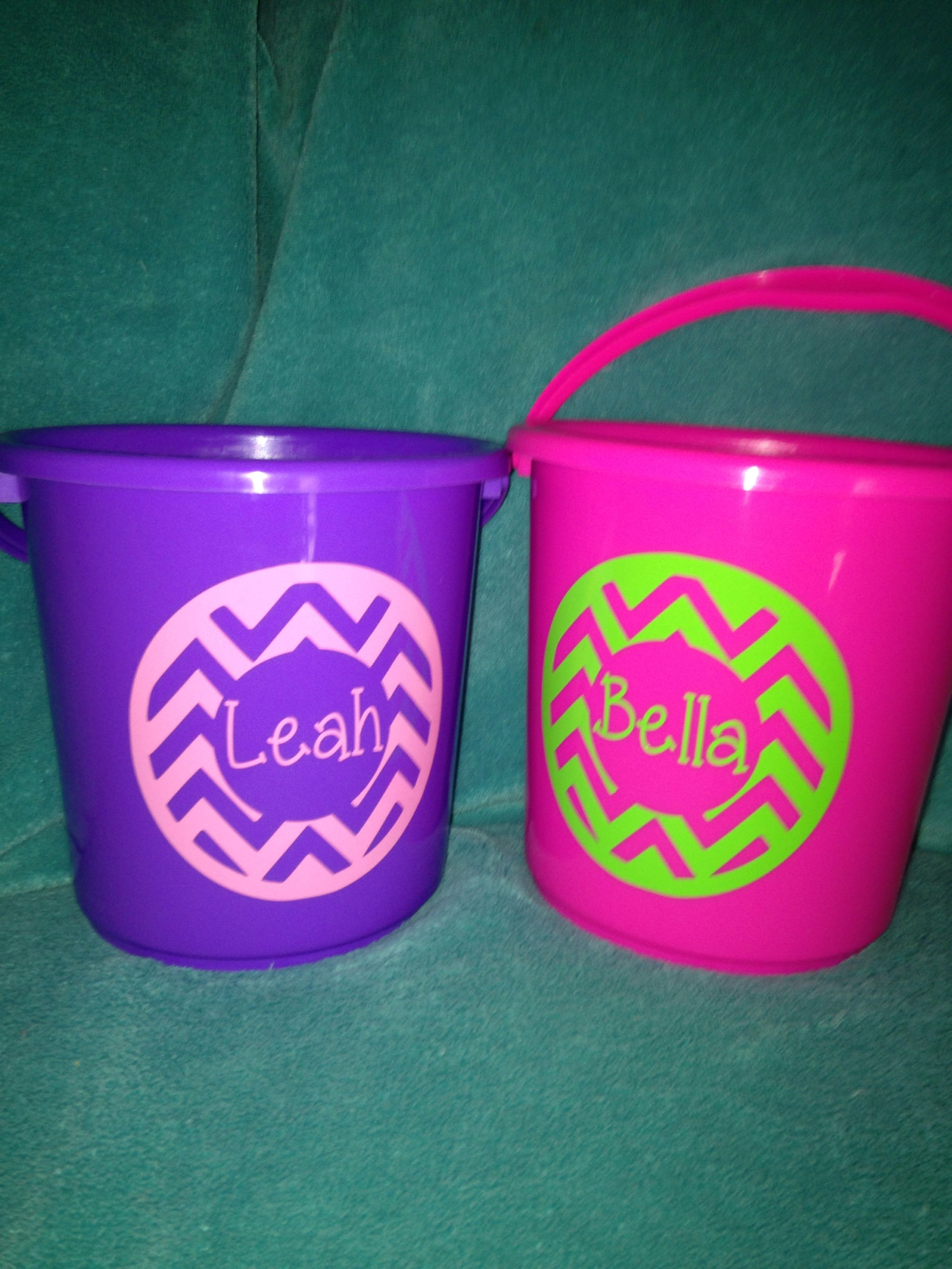 Easter buckets $6 each