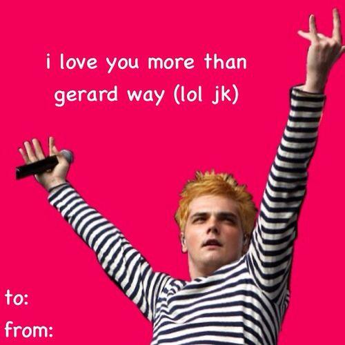 Tumblr Valentines Bad Valentines My Chemical Romance Gerard Way