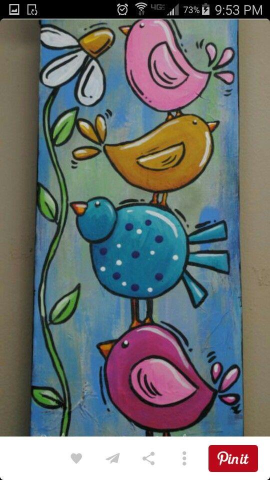 Pin de Pamala York en Garden Art | Pinterest | Cuadro, Pinceles y ...