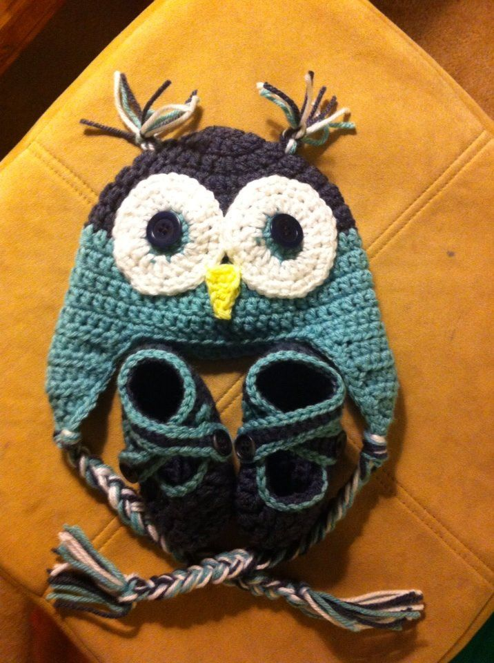 Who Can Make Me This Repeat Crafter Me Owl Hat Pattern Baby