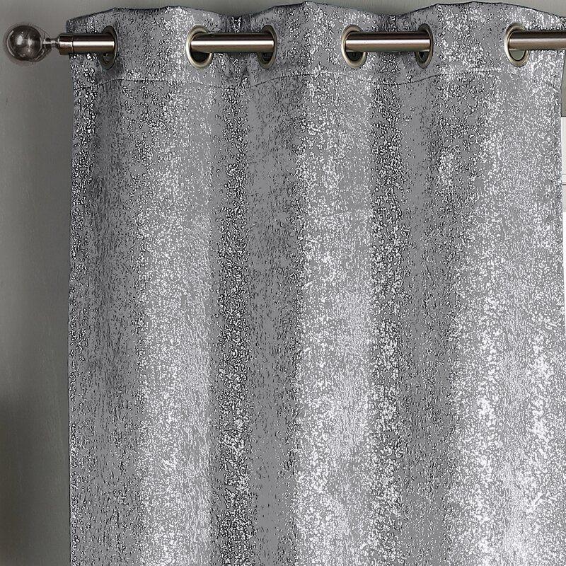 Lemond Sparkle Solid Blackout Thermal, Sparkle Curtain Panels