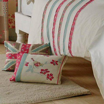 Dreams-n-Drapes 38 x 28 cm Petticoat Bird Filled with Boudoir Cushion: Amazon.co.uk: Kitchen & Home