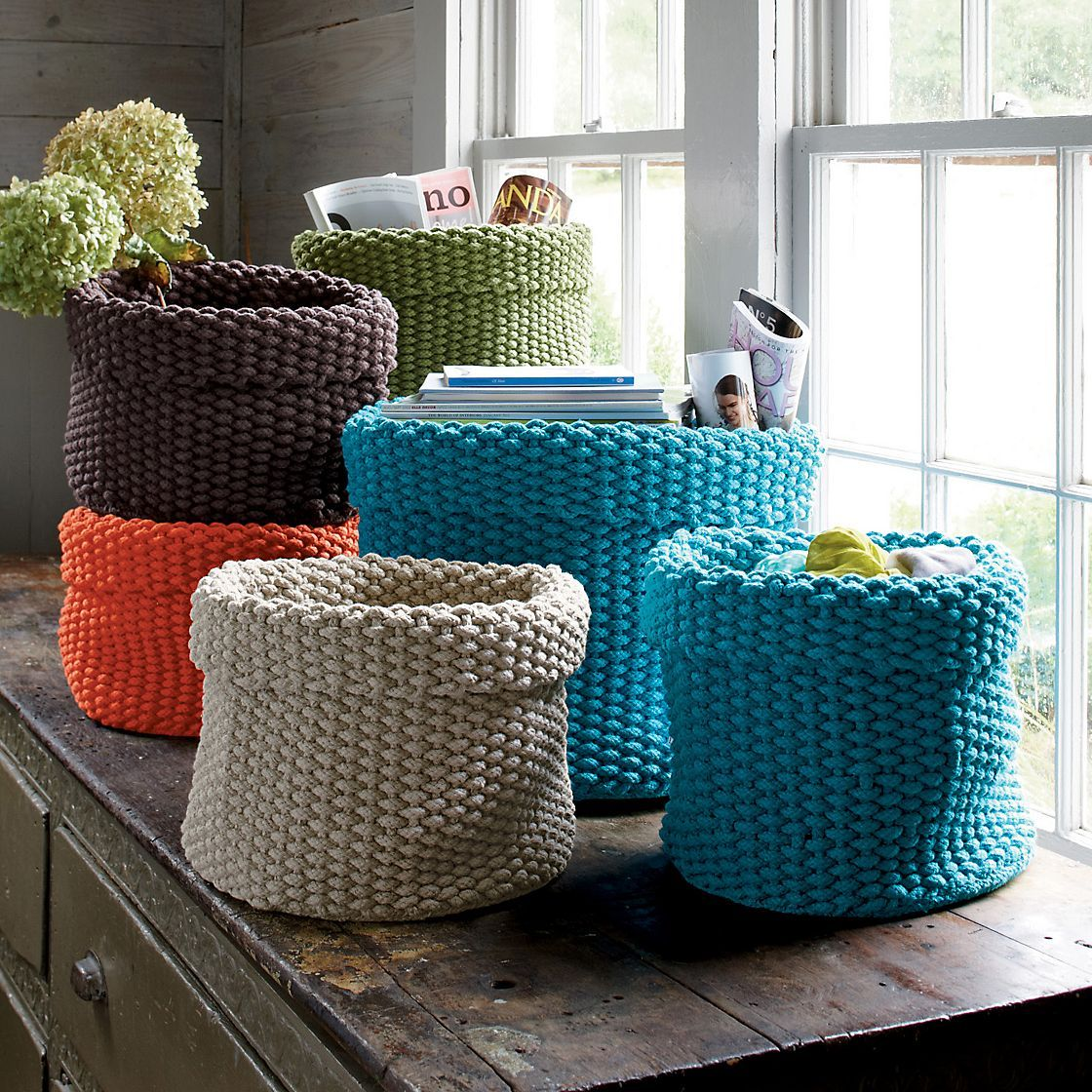 Storage Basket Set | The Company Store | Products I Love | Pinterest ...