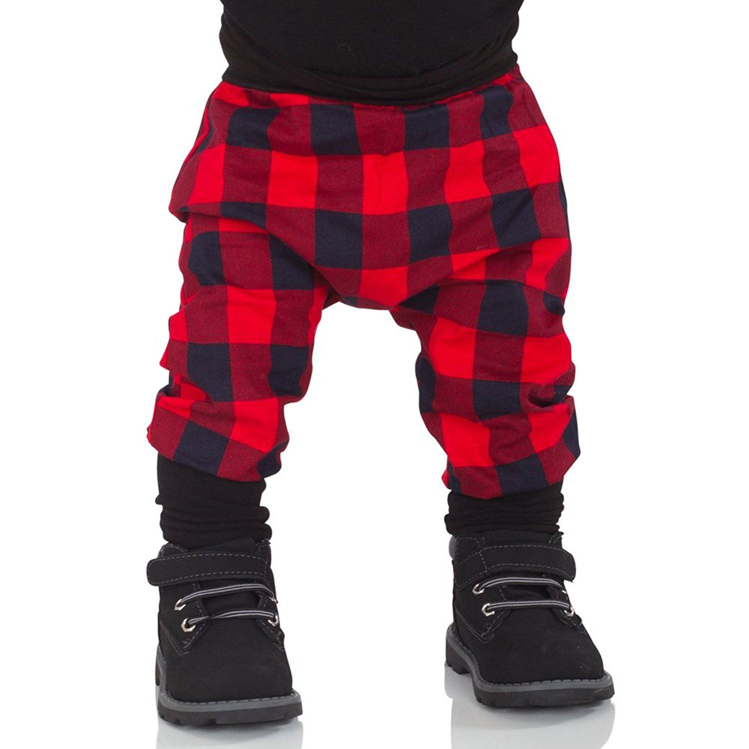 5cc4c67af Newborn Baby Boys Girls Buffalo Plaid Harem Pants Warm Long Pants 03m *  Want additional info? Click on the image.-It is an affiliate link to Amazon.