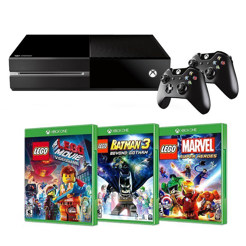 Xbox One 500GB The LEGO Movie Videogame Bundle (3 LEGO Games ...