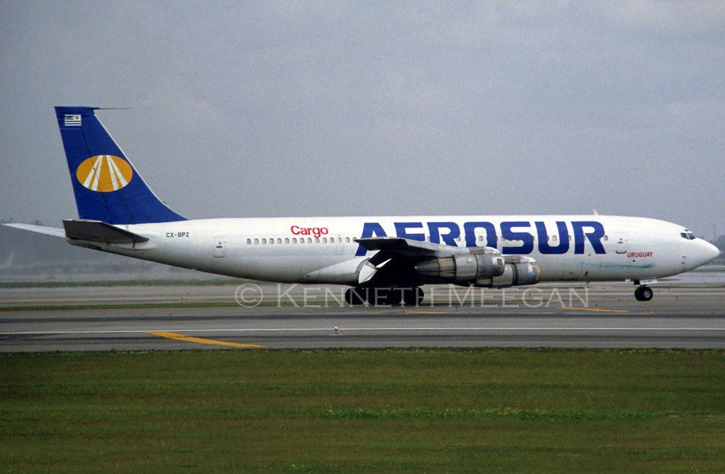 Cxbpz cargo airlines boeing 707 cargo